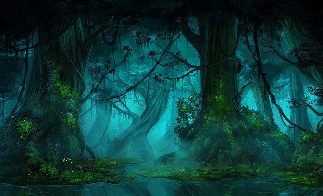 dark_forest_by_13theglueats-d6nmoiq