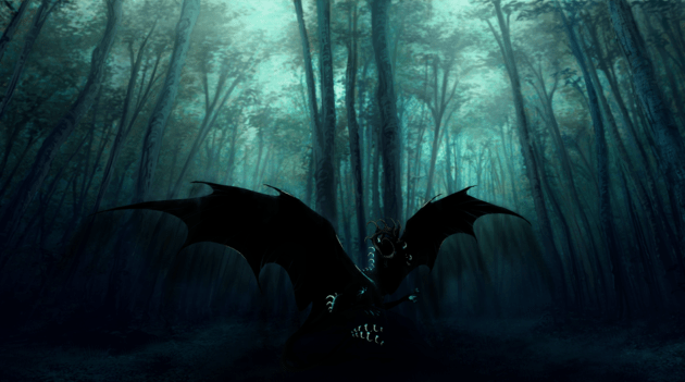 the_dark_forest_by_theblack_arrow-d6l4ug2