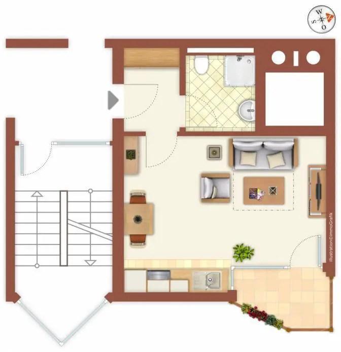 1-Zimmer Wohnung zum Verkauf, Kurt-Lindemann-Straße 2-8, 69151
