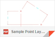 DXF - Sample Point Layer