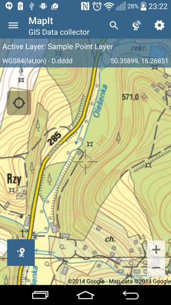 WMS – Czech Republic – Topographic map