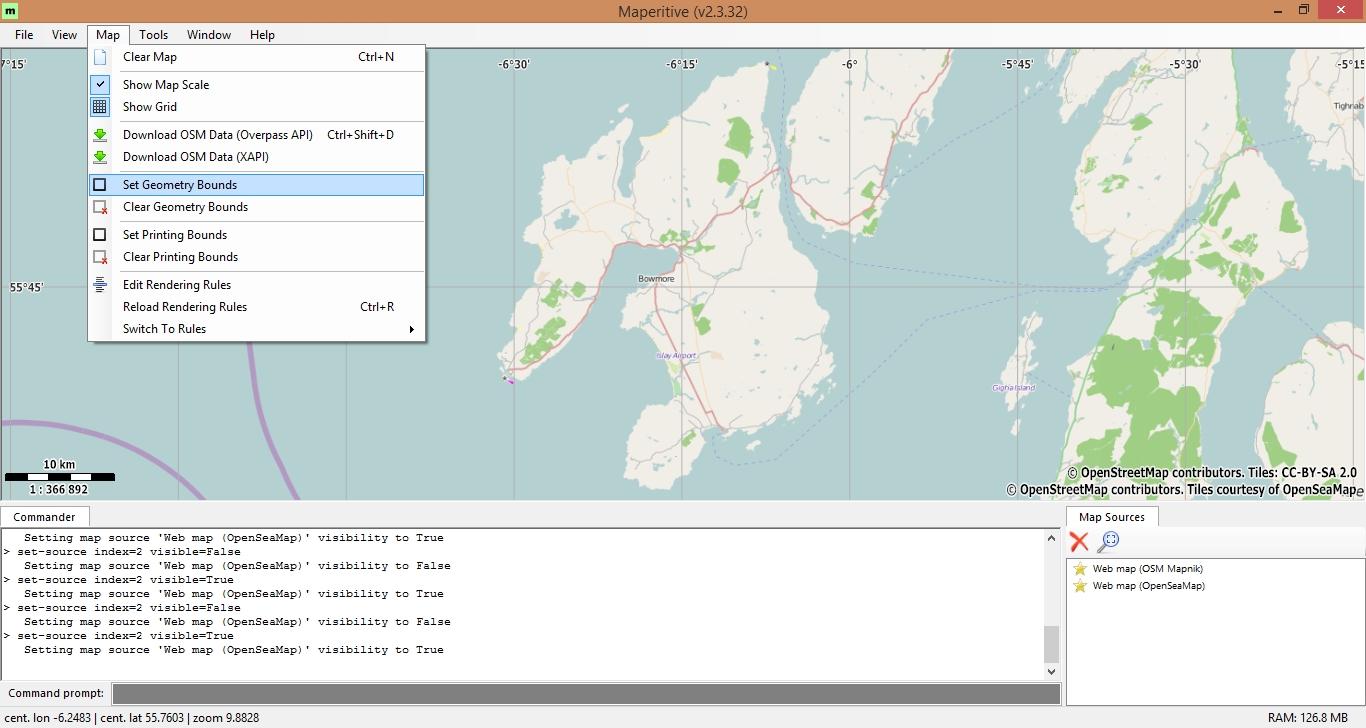 Creating offline maps using Maperitive - mapitGIS