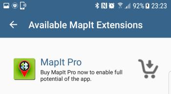 MapIt Pro Extension