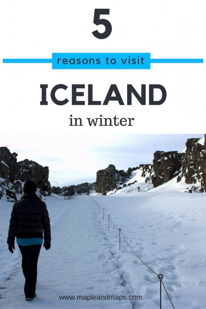 5 Reasons to visit Iceland in winter