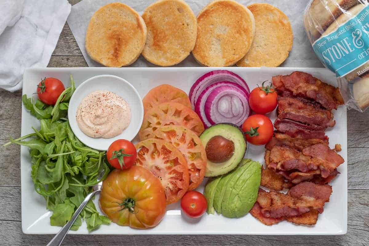 Ultimate BLT Platter – An Easy Weeknight Dinner