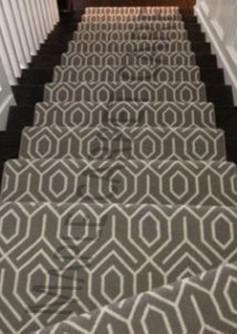 Wool Carpet Stair Runner Toronto Natural Installation