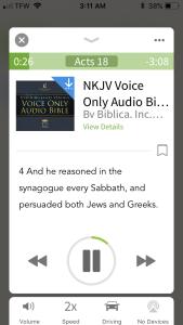 audio Bible of my dreams