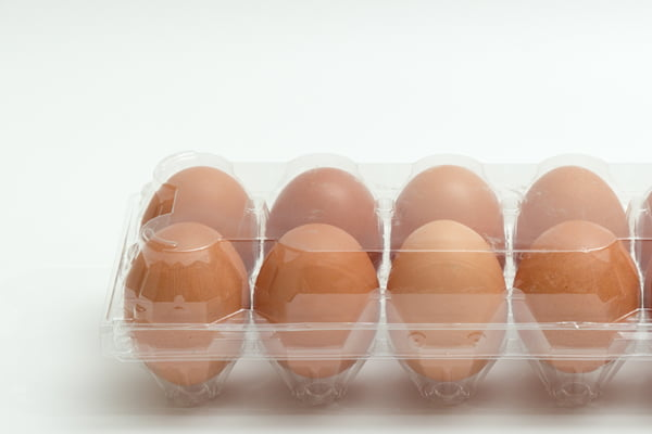 Printing on egg cases, boxes, and carton