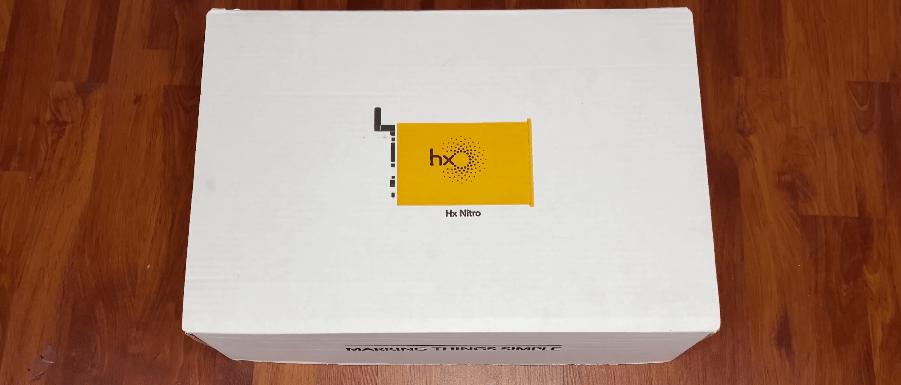 Unboxing of Hx Nitro basic, Opening Box Video