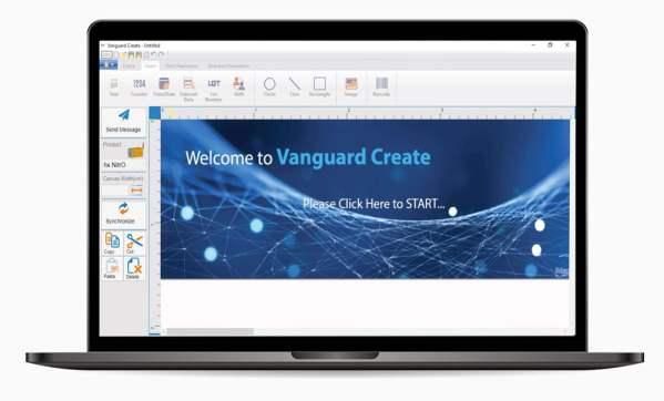 Vanguard Create Software for Hx Nitro industrial tij printer