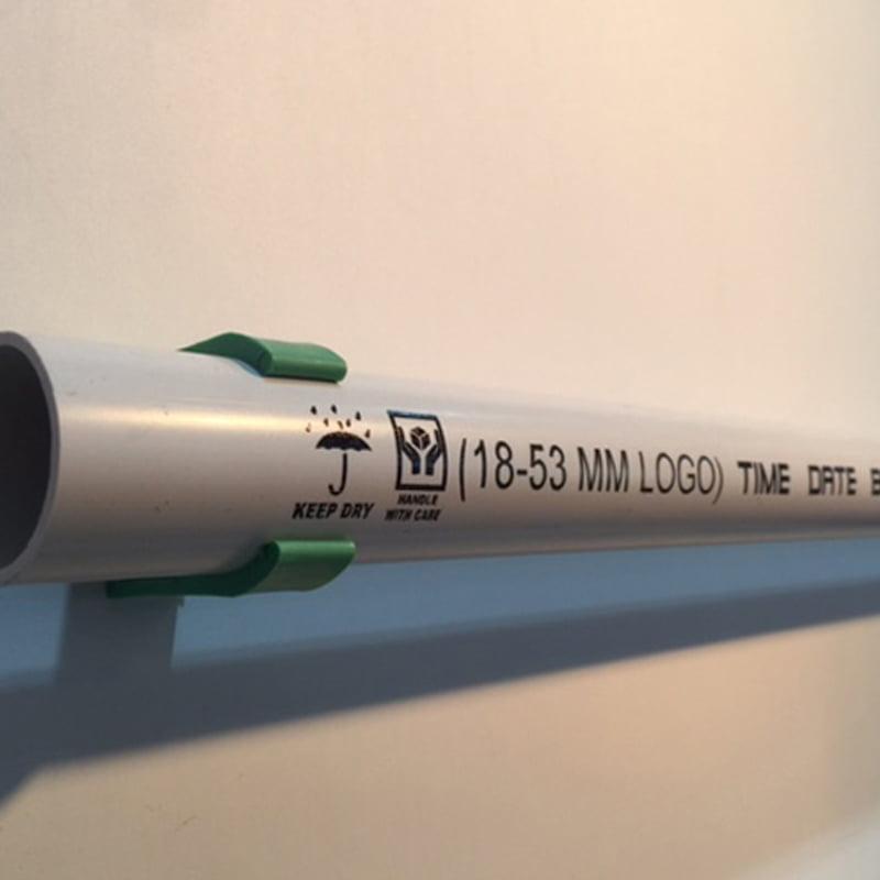 printing on PVC pipe