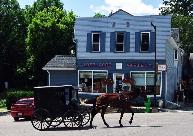 West Montrose Covered Bridge Mennonite Store