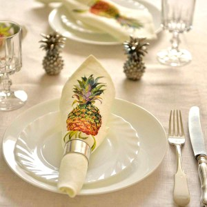 Napkins Pineapple Linen