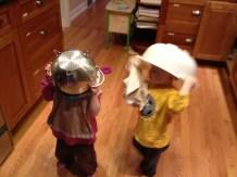 Magic helmets!