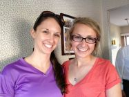 My cousins: sisters Brittany and Brenna