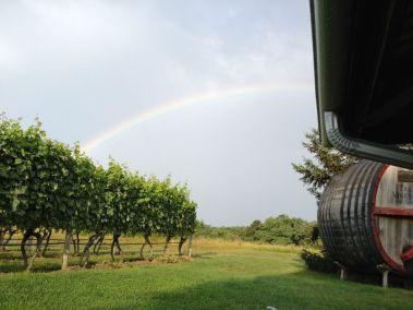 Rainbow in Truro