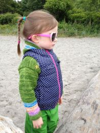 Cool Audrey at the beach