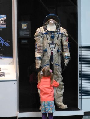 TK's idol: the doctor astronaut at the Museum of Flight