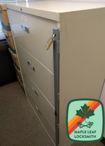 secure your file cabinet | seattle's maple leaf locksmith llc