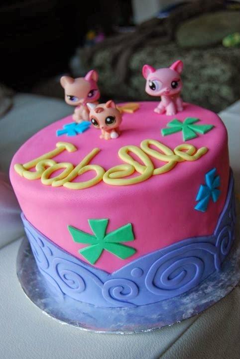 Littlest Pet Shop Birthday Cake Cake Magic Maple Leaf