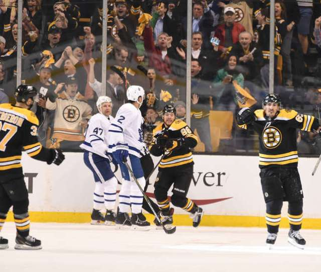 Ecqf Game 1 Review Boston Bruins 5 Vs Toronto Maple Leafs 1
