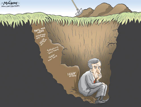 Image result for digging a hole cartoon