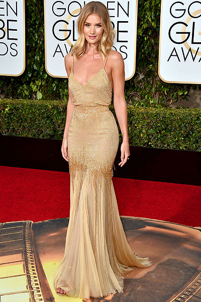 Rosie Huntington-Whiteley en Versace