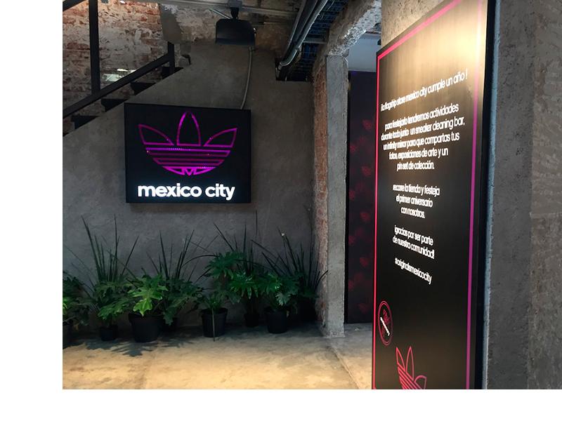 LA CELEBRACIÓN DE LA FLAGSHIP STORE MEXICO CITY DE ADIDAS ORIGINALS