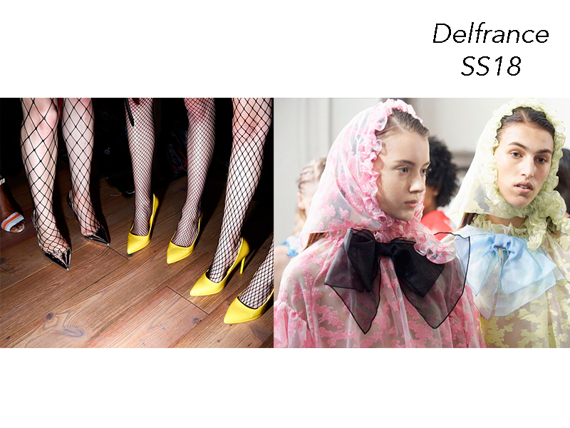 DELFRANCE SS18 – MILAN FASHION WEEK