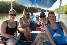 Us Girls on the boat