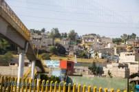 Driving between Mexi City and Puebla