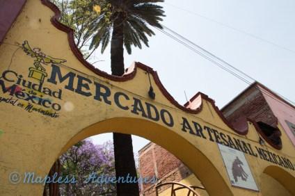 the mercado in Coyoacan