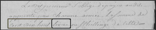 Notary record