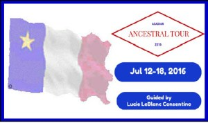 Acadian Ancestral Tour 2016