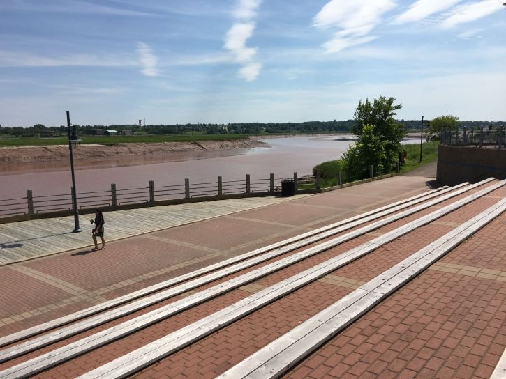 The Petitcodiac River (aka the Chocolate River)