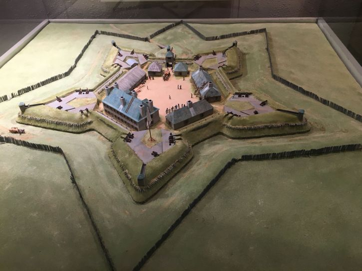 Model of Fort Beauséjour