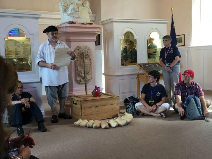 Reading of the Declaration of Deportation