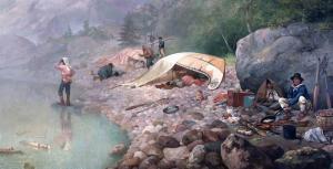 Voyageurs at Dawn