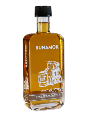 Runamok Rum Barrel-aged Maple Syrup