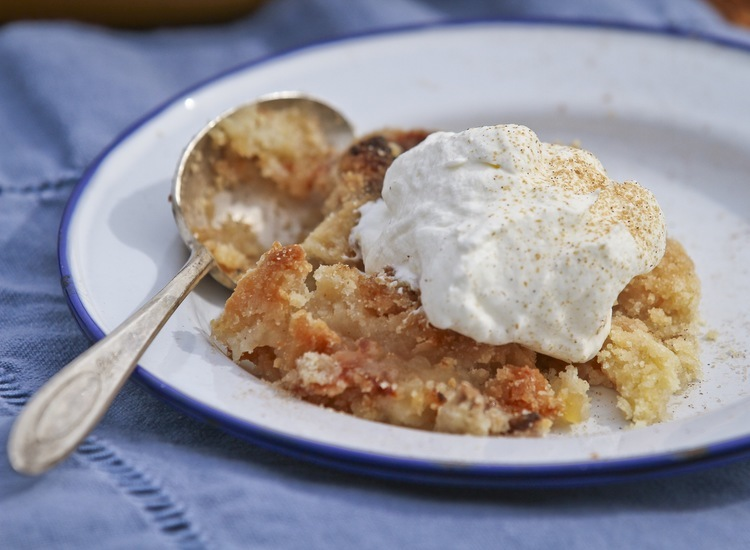 Apple Crisp with Maple Syrup