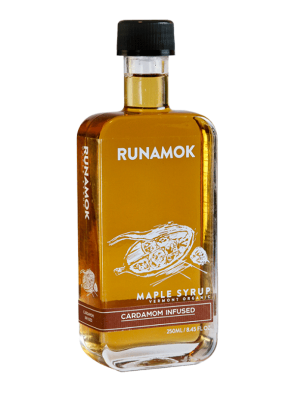 Runamok Cardamon Infused Maple Syrup