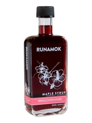 Runamok Hibiscus Infused Maple Syrup