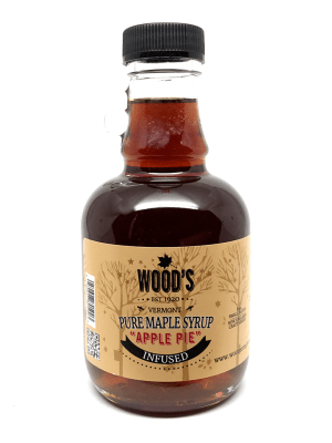 Wood's Apple Pie Maple Syrup
