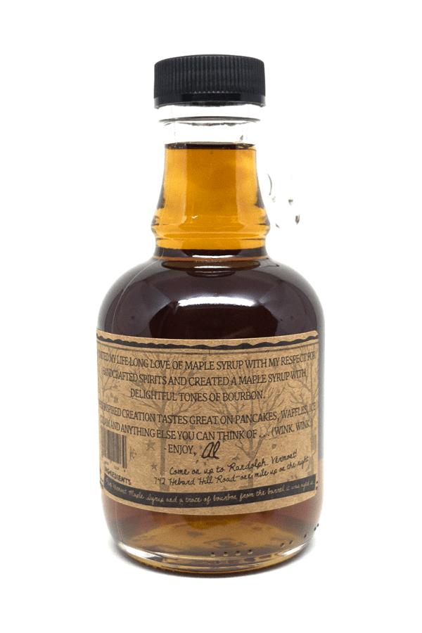 Wood's Bourbon Fass gereiftes Ahornsirup Back