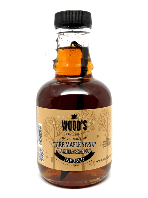 Wood's Vanilla Beaned Maple Syrup