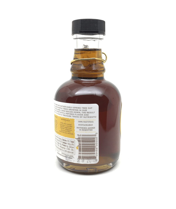 New Day Farm Pure Biodynamic Maple Syrup Side