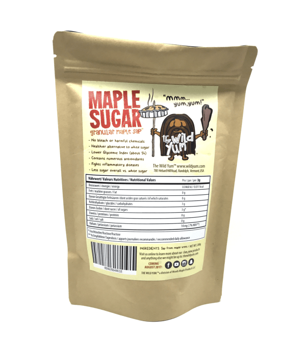 Maple Sugar Back