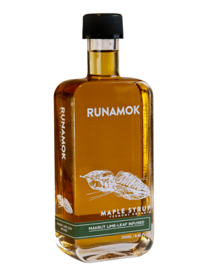 Runamok Market Lime Leaf Infused Maple Syrup