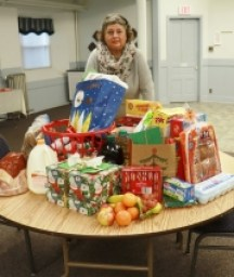 One Family's Holiday Basket for 2020