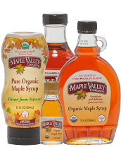 Maple Valley Syrup products